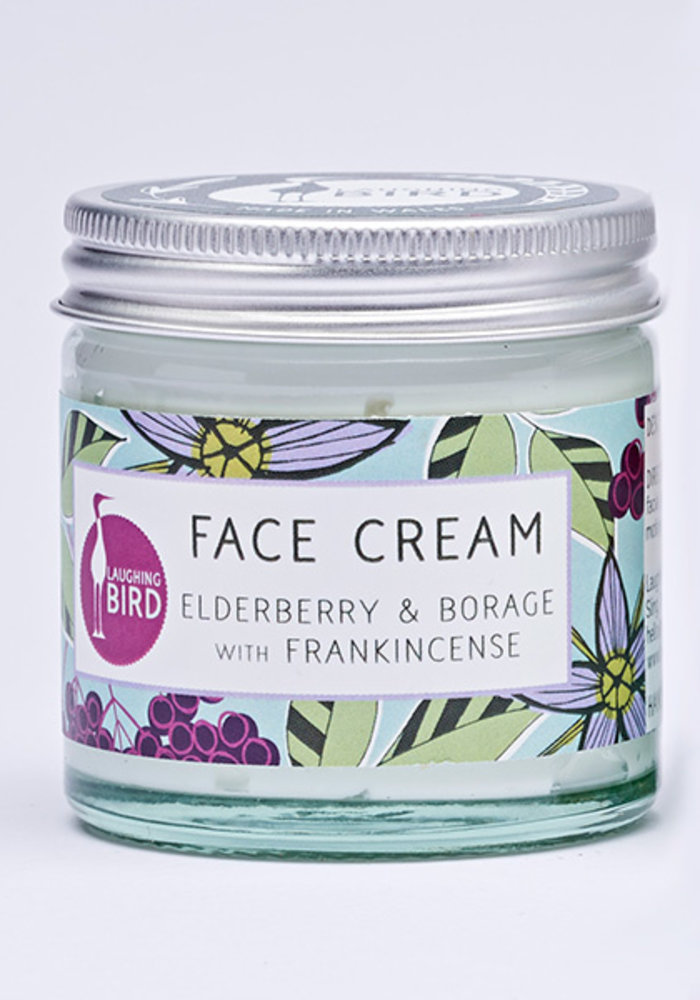Laughing Bird Face Cream - Elderberry and Borage