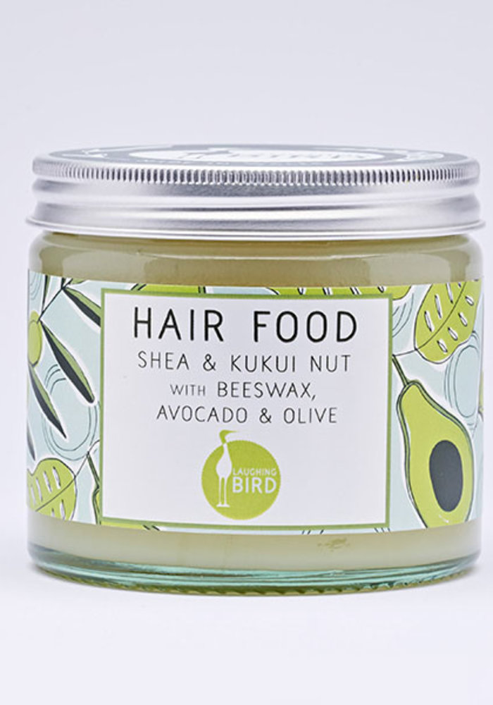 Laughing Bird Shea and Kukui Nut Hair Food with Avocado, Olive and Beeswax