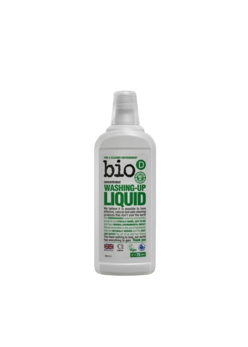 Bio-D Washing Up Liquid: Fragrance Free 750ml