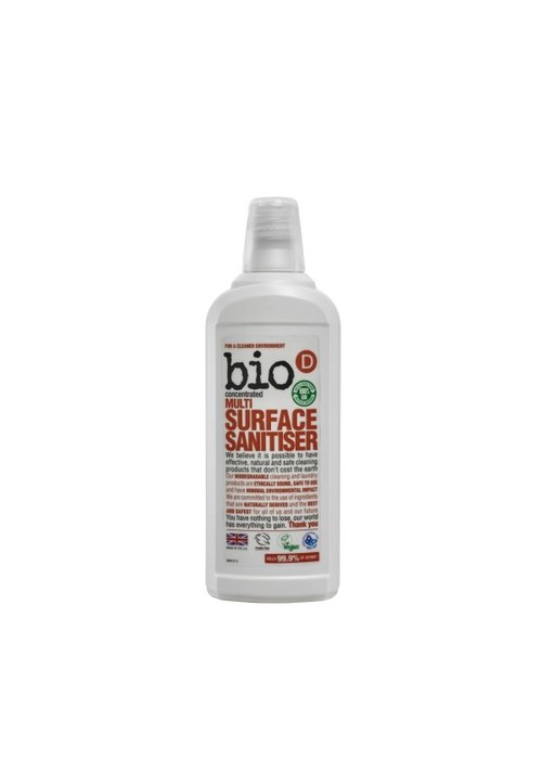 Bio-D Multi Surface Sanitiser 750ml