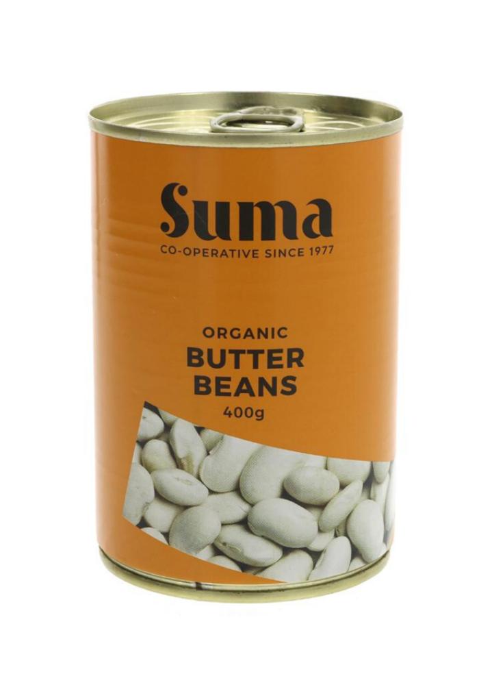 Organic Butter Beans 400g