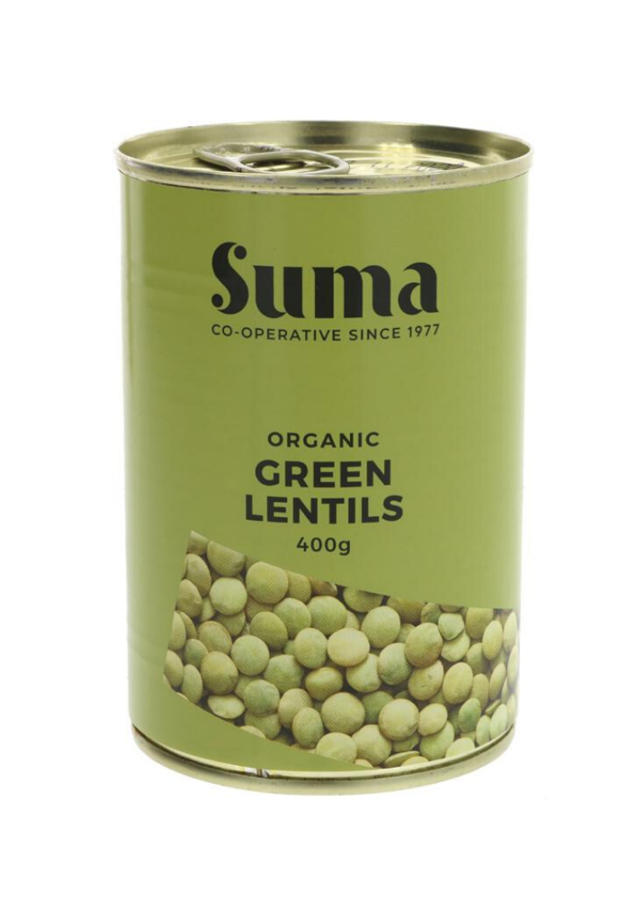 Organic Green Lentils 400g