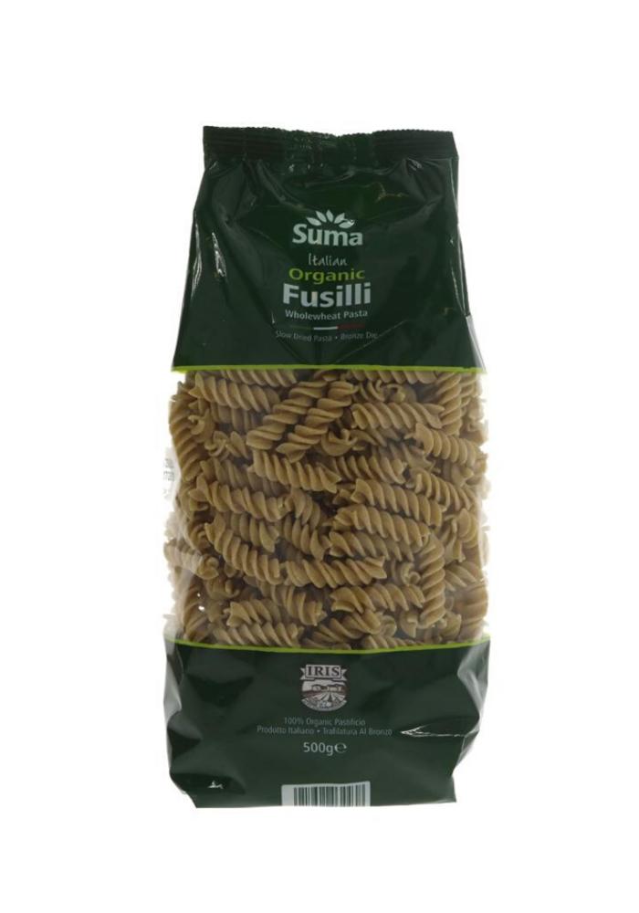 Wholewheat Fusilli 500g
