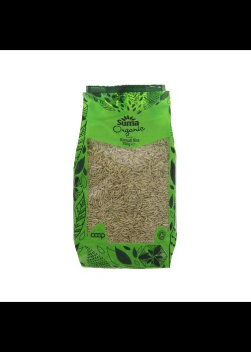 Suma Organic Brown Basmati Rice 750g