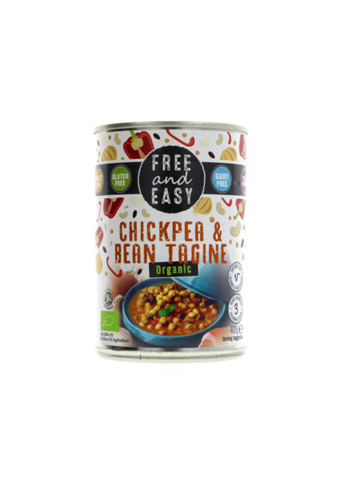 Free & Easy Chick Pea and Bean Tagine 400g