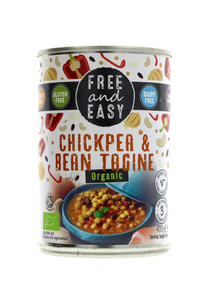Chick Pea and Bean Tagine 400g