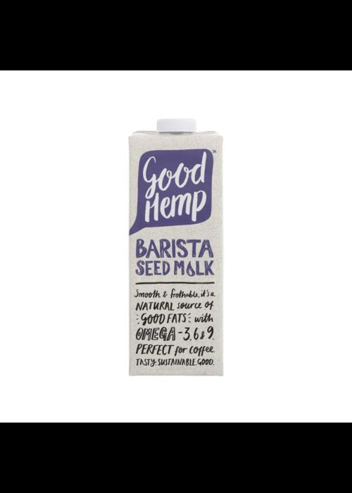 Good Hemp Hemp Seed Milk – Barista 1L