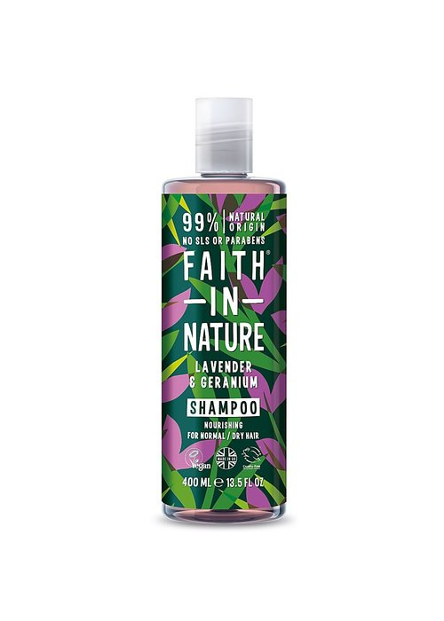 Faith In Nature Shampoo: Lavender and Geranium  400ml