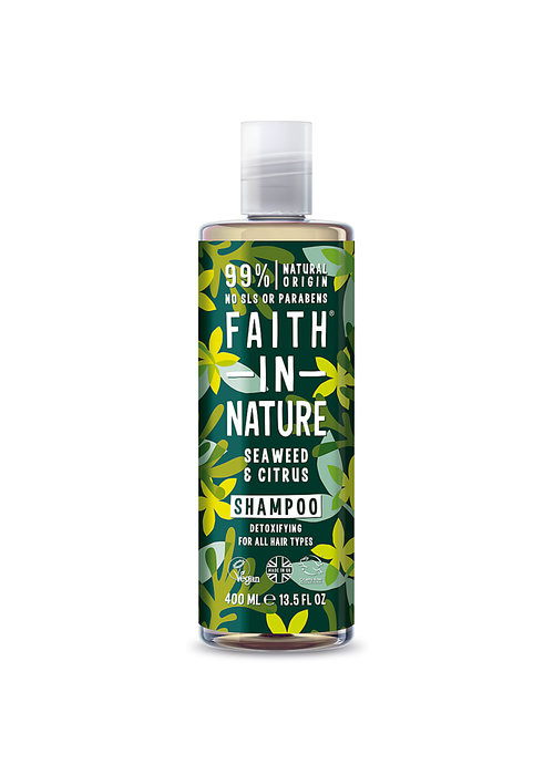 Faith In Nature Shampoo: Seaweed  400ml
