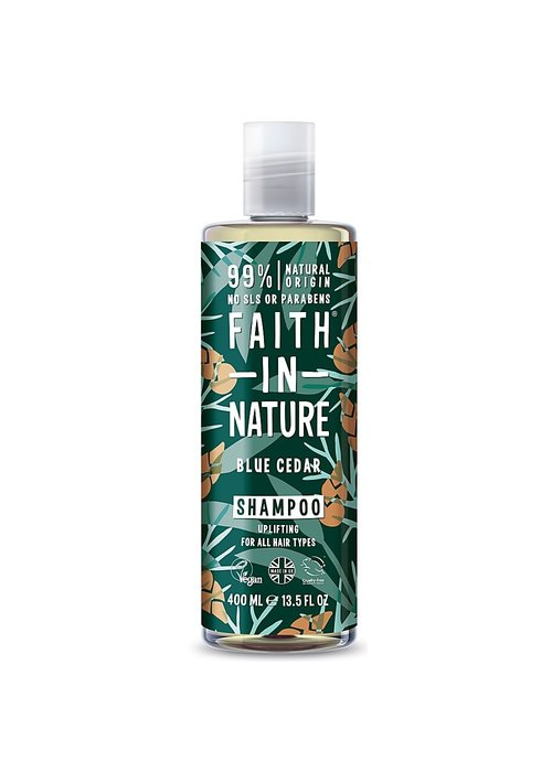Faith In Nature Shampoo: Blue Cedar 400ml
