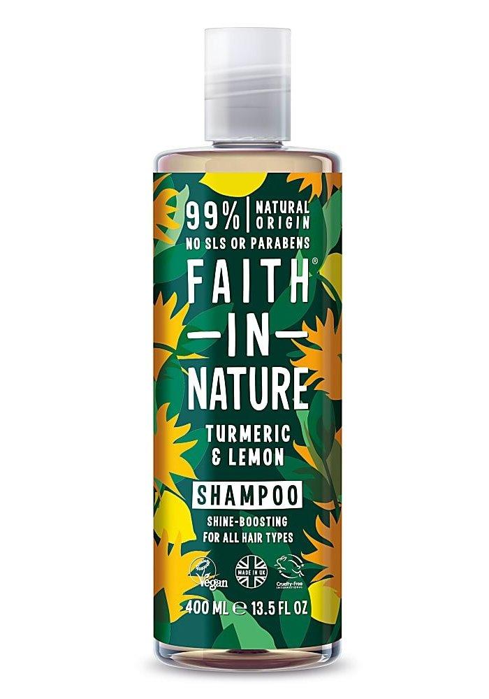 Shampoo: Turmeric and Lemon 400ml