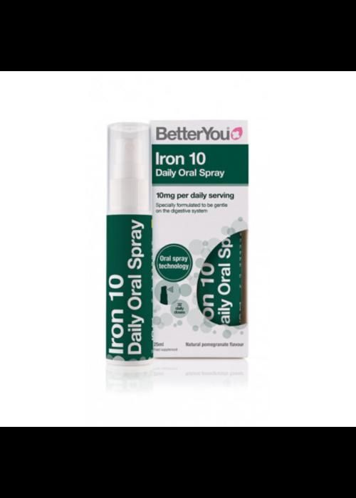 BetterYou Iron Oral Spray 10mg