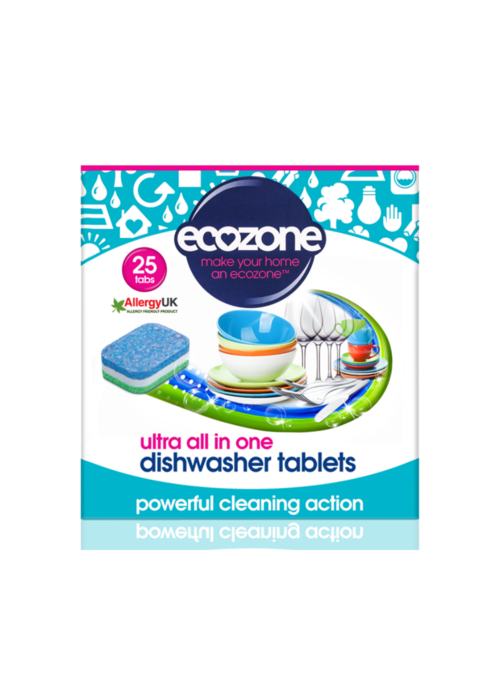 EcoZone Dishwasher tablets: Ultra All in One 25 tabs