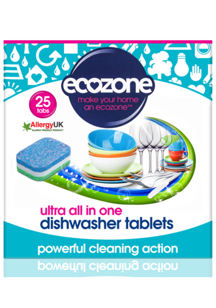 Dishwasher tablets: Ultra All in One 25 tabs