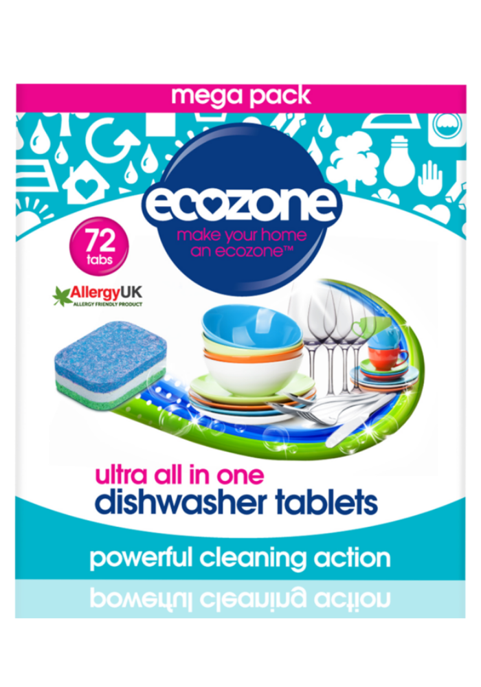 Dishwasher tablets: Ultra All in One 72 tabs