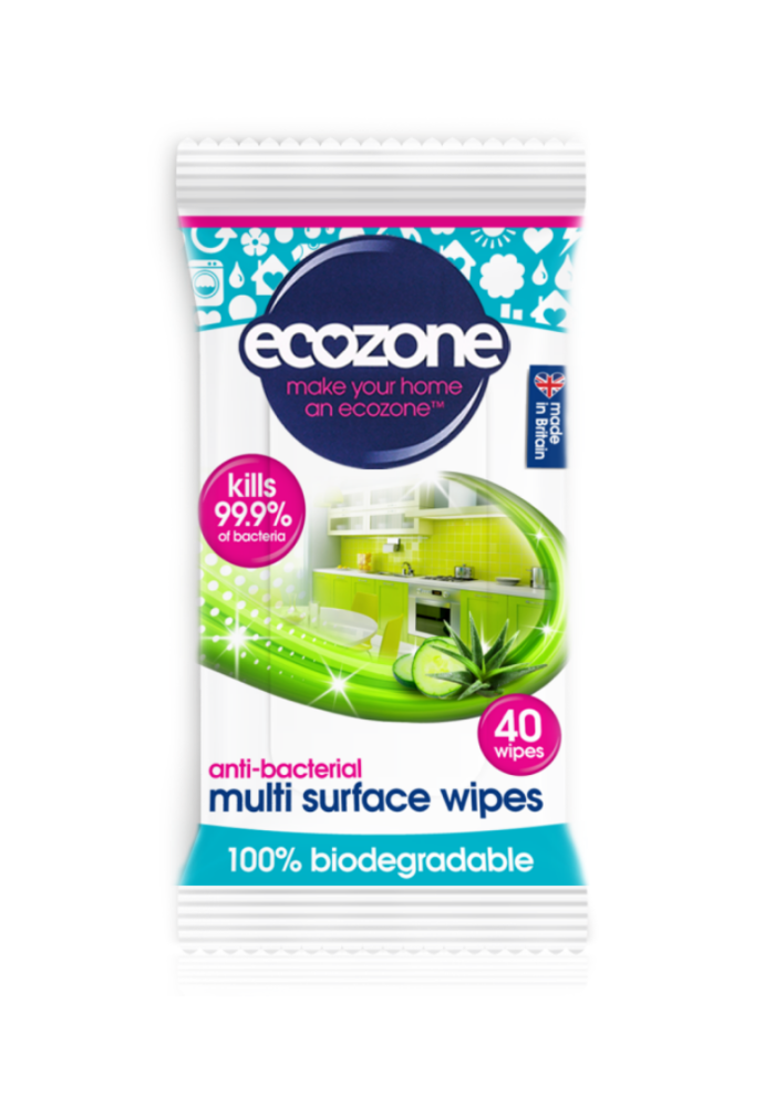 Multi Surface Anti-bacterial Wipes 40 Wipes