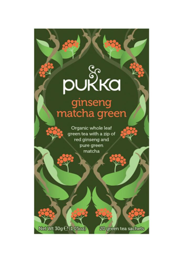 Organic Tea - Ginseng Matcha Green