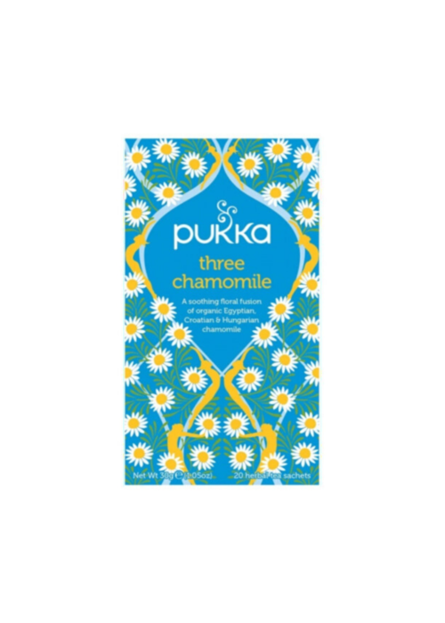 Pukka Organic Tea - Three Chamomile