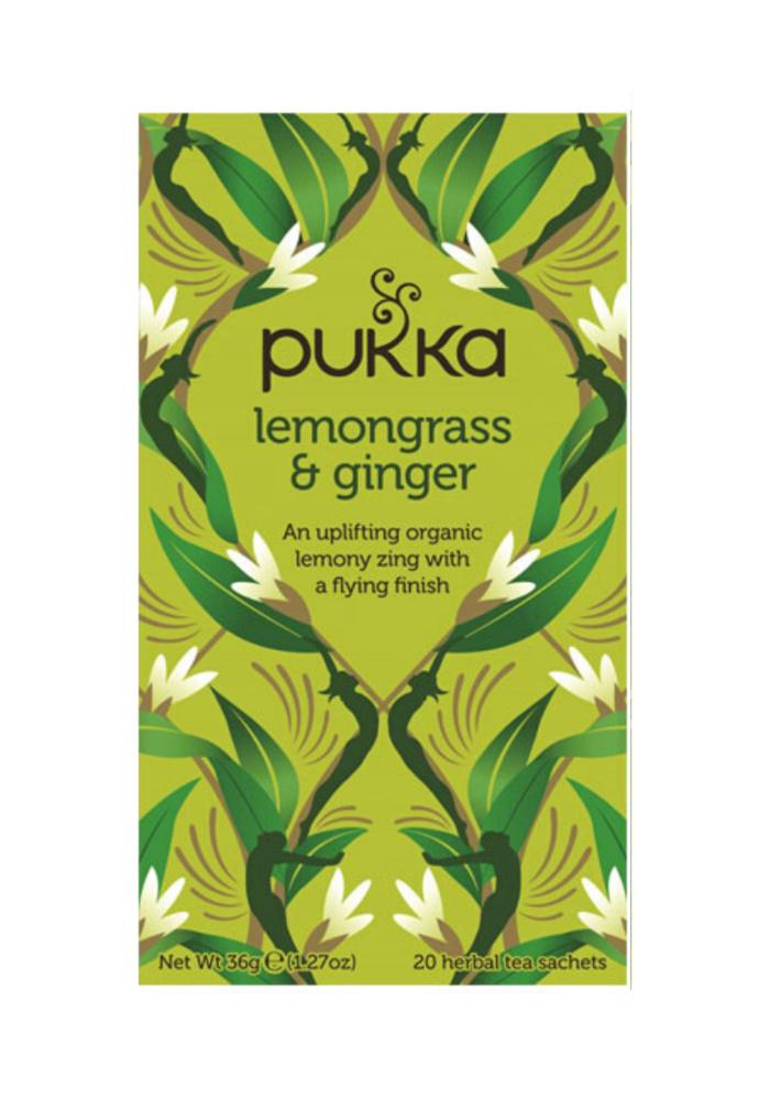 Organic Tea - Lemongrass and Ginger