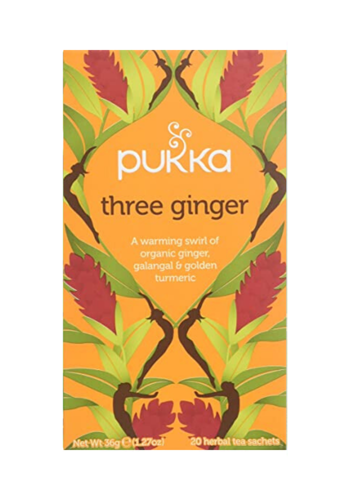 Organic Tea - Three Ginger
