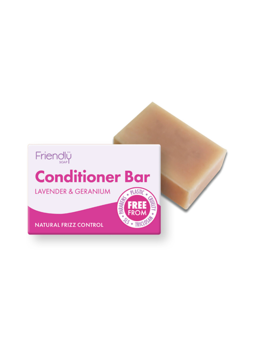 Friendly Soap Conditioner Bar: Lavender & Geranium