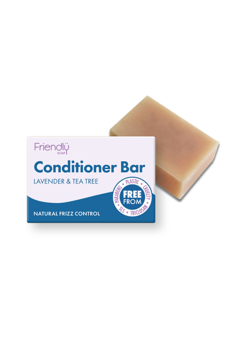 Friendly Soap Conditioner Bar: Lavender & Tea Tree