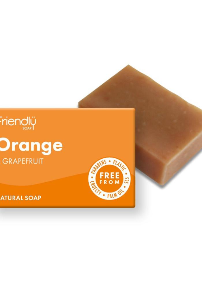 Handmade Soap: Orange and Grapefruit