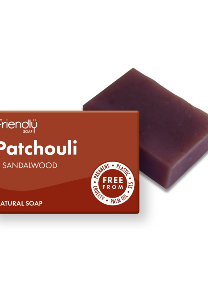 Handmade Soap: Patchouli and Sandalwood 95g