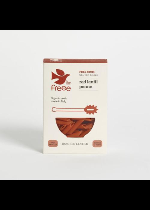 Doves Farm Organic Red Lentil Penne Pasta 250g