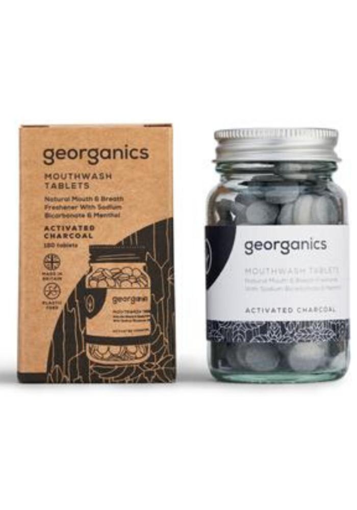 Organic Mouthwash Tablets: