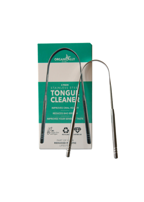 Organically Epic Tongue Cleaner - 2 pack