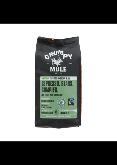 Grumpy Mule Organic Espresso Whole Beans - 227g