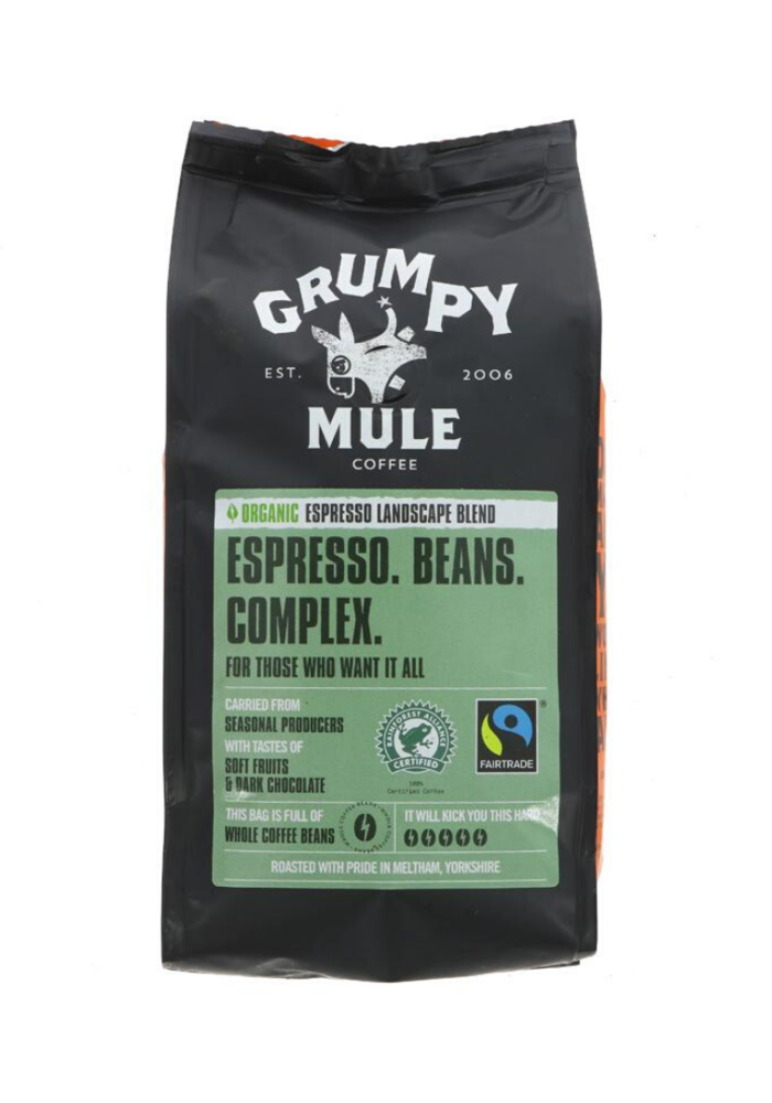 Organic Espresso Whole Beans - 227g