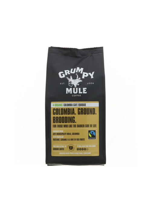 Grumpy Mule Colombia Ground Coffee: Cafe Equidad