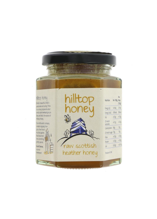 Hilltop Raw Scottish Heather Honey 227g