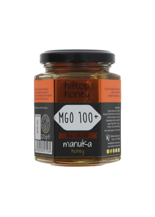 Hilltop Manuka Honey 100+ 225g