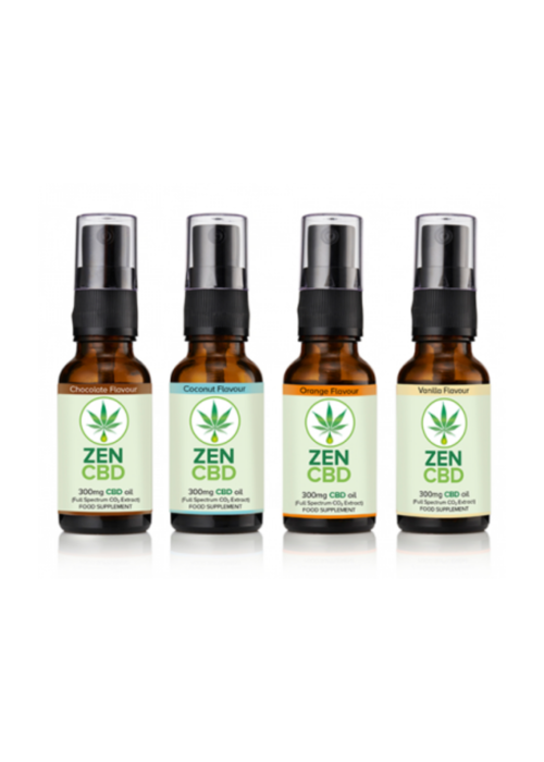 Zen CBD CBD Oil 3% (Organic):