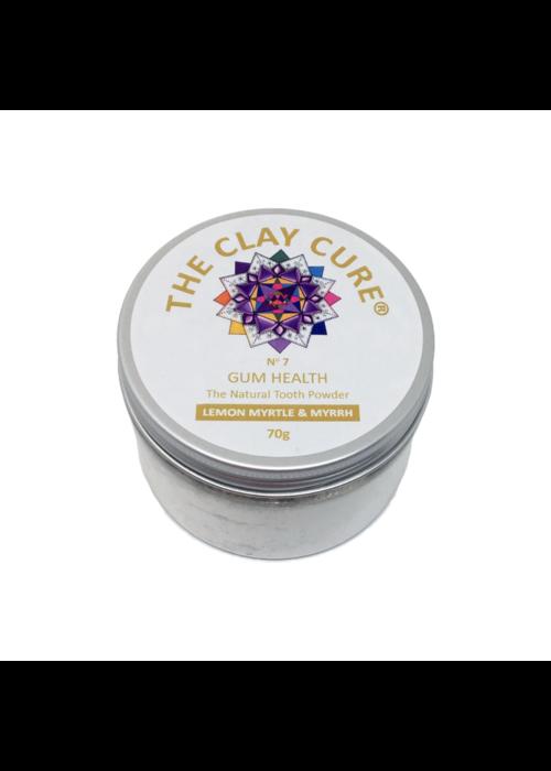 Clay Cure Tooth Powder - Lemon Myrtle & Myrrh