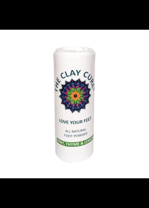 Clay Cure Mint, Thyme & Lemon Foot Powder