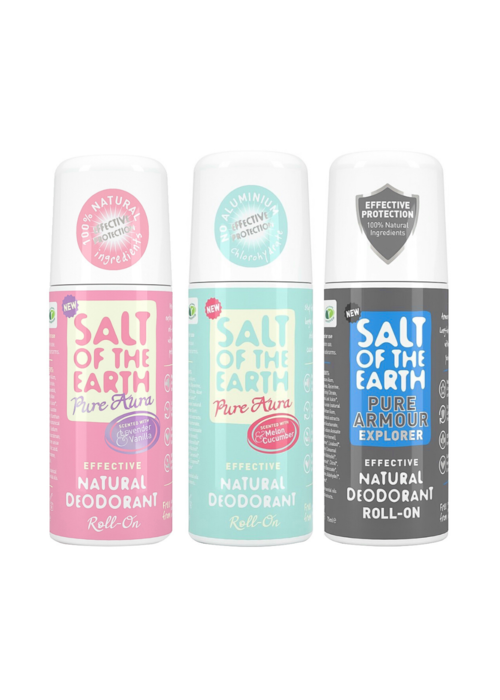 Salt of the Earth Deodorant Roll On: