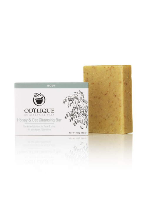 Odylique Cleansing Bar -Honey & Oat: Organic