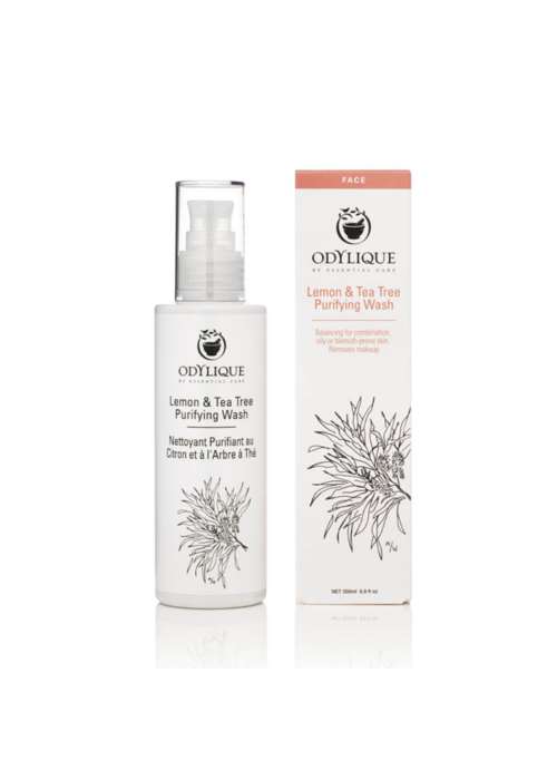 Odylique Organic Cleanser - Lemon and Tea Tree Facial Wash
