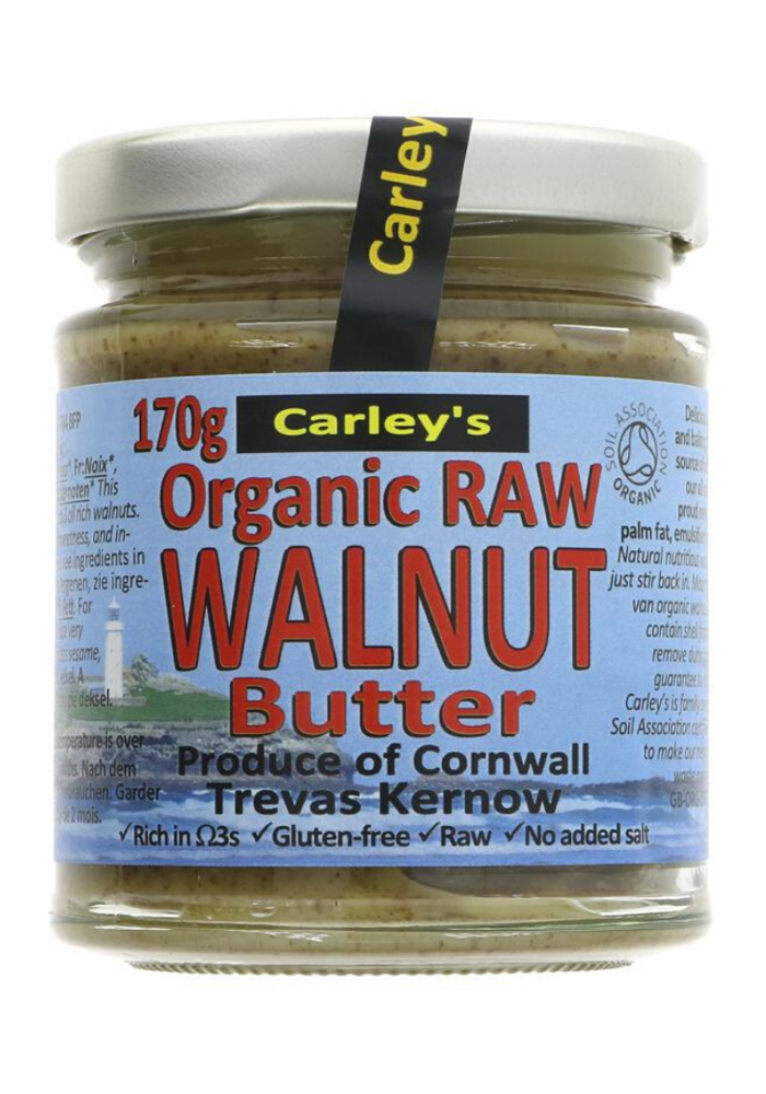 Raw Walnut Butter: Organic