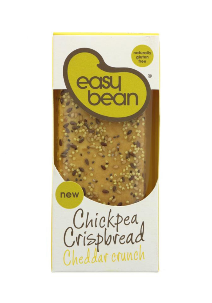 Chickpea Cheddar Crispbread