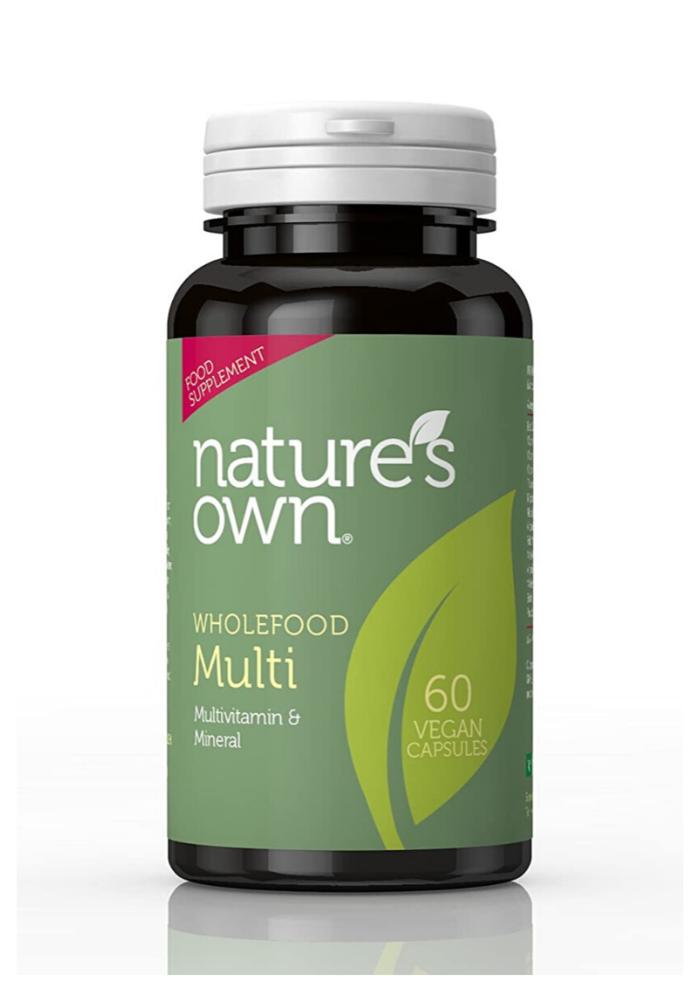 Whole Food Multi Vitamin 60 caps