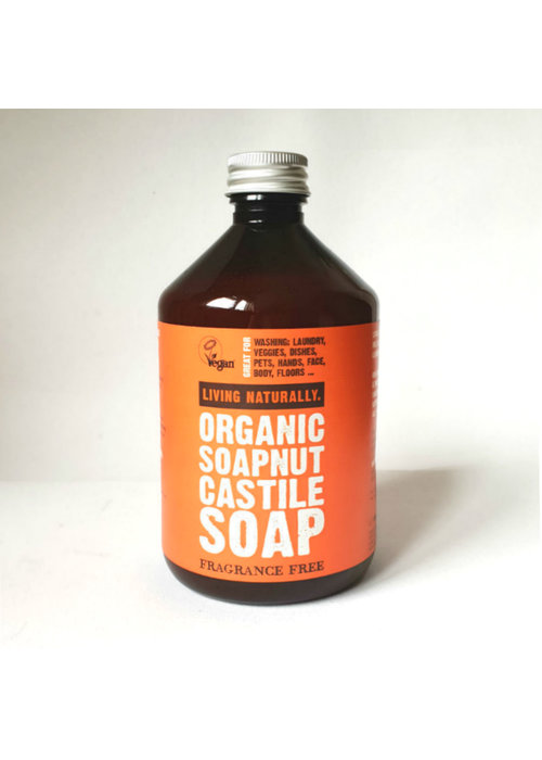 Living Naturally Soapnut Liquid Castile Soap