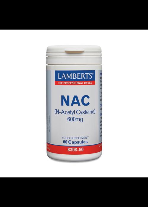 Lamberts NAC 600mg 90 tabs