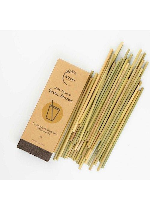 Huski Grass Straws