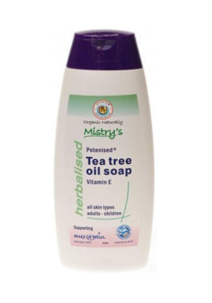 Tea Tree Soap with Vitamin E 200ml