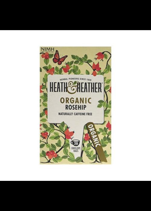 Heath and Heather Tea Organic Rosehip Tea 20 Bags